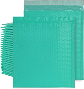 Bubble Mailers 8.5 x 11 Inch, 30Pack #2 Green Padded Envelopes Bulk Self Seal Poly Mailers, Bubble Mailing Envelope Bags for Shipping/Packaging/Mailing, Waterproof and Tear-Proof