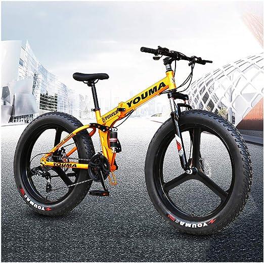 ATRNA Bicicleta de Montaña, Bicicleta 26/24 Pulgadas 7/21/24/27 ...