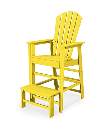 9720a1c60935 Image Unavailable. Image not available for. Color  POLYWOOD SBL30LE South  Beach Lifeguard Chair ...