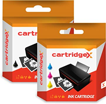 Cartridgex - Ink Cartridge - Cartucho de tinta, negro y tricolor, de repuesto para HP 300XL HP DESKJET F4272 F4275 F4280 F4283: Amazon.es: Electrónica
