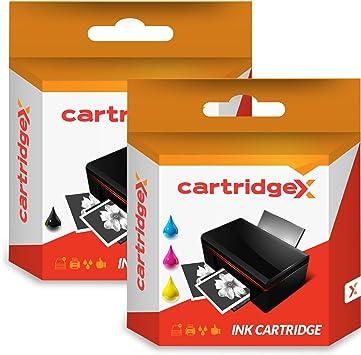 Cartridgex - Ink Cartridge - Cartucho de tinta, negro y tricolor, de repuesto para HP 300XL HP DESKJET F4272 F4275 F4280 F4283: Amazon.es: Electrónica