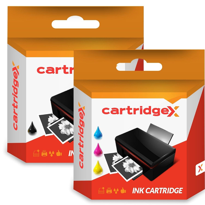 Cartridgex - Juego de 2 Cartuchos de Tinta compatibles para ...
