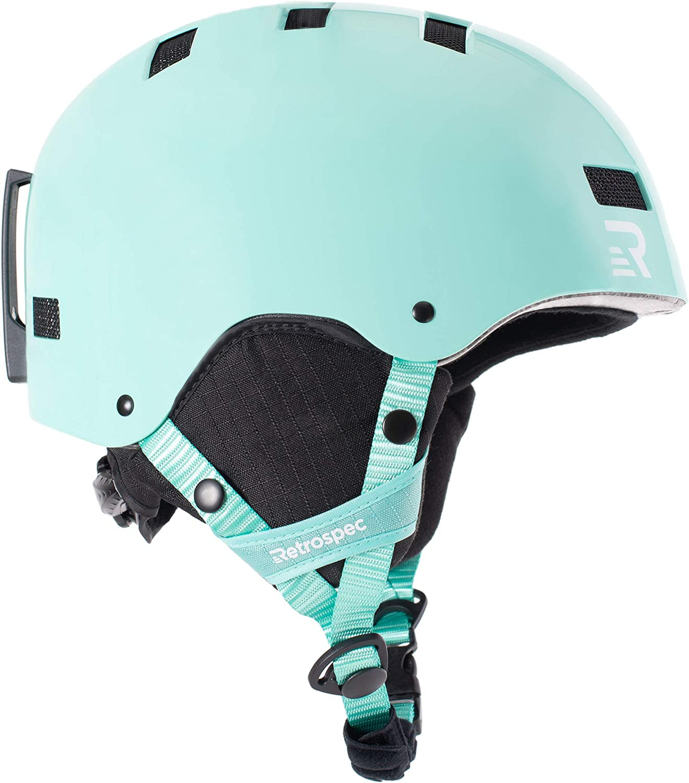 Retrospec Traverse H1 Convertible Ski Snowboard Bike Helmet