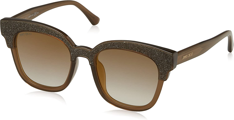 TALLA 50. Jimmy Choo Mayela/S, Gafas de Sol para Mujer