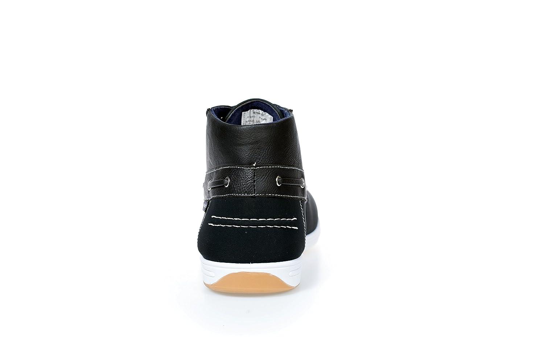 Akademiks Mens Comfort Mid-Cut Boat Shoes