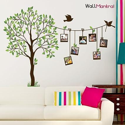 Wallmantra Self Adhesive Family Photo Frame Tree Wall Sticker Vinyl