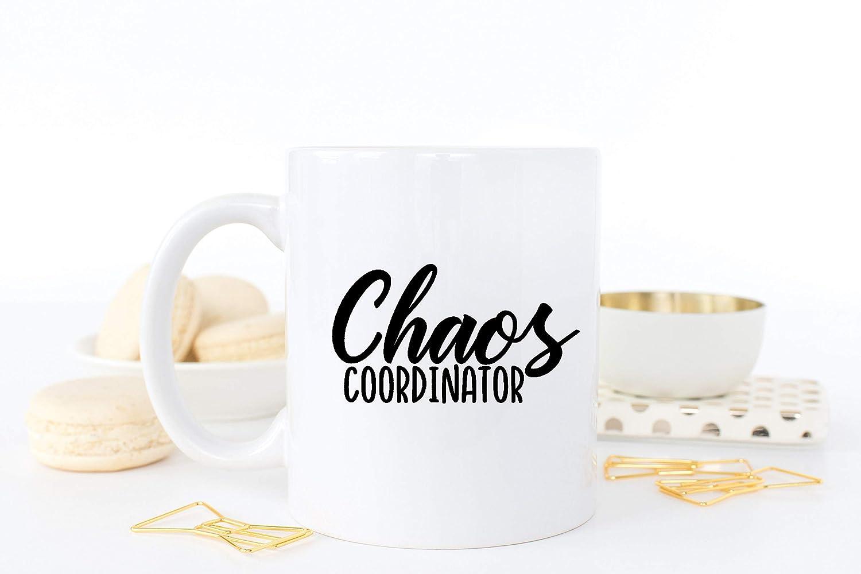 Amazoncom Preschool Teacher Gift Chaos Coordinator Mug