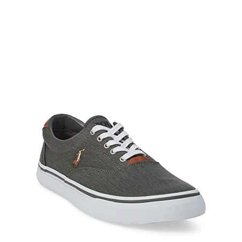 Polo Ralph Lauren Thorton Twill N Black Zapatillas para Hombre, EU 44: Amazon.es: Zapatos y complementos