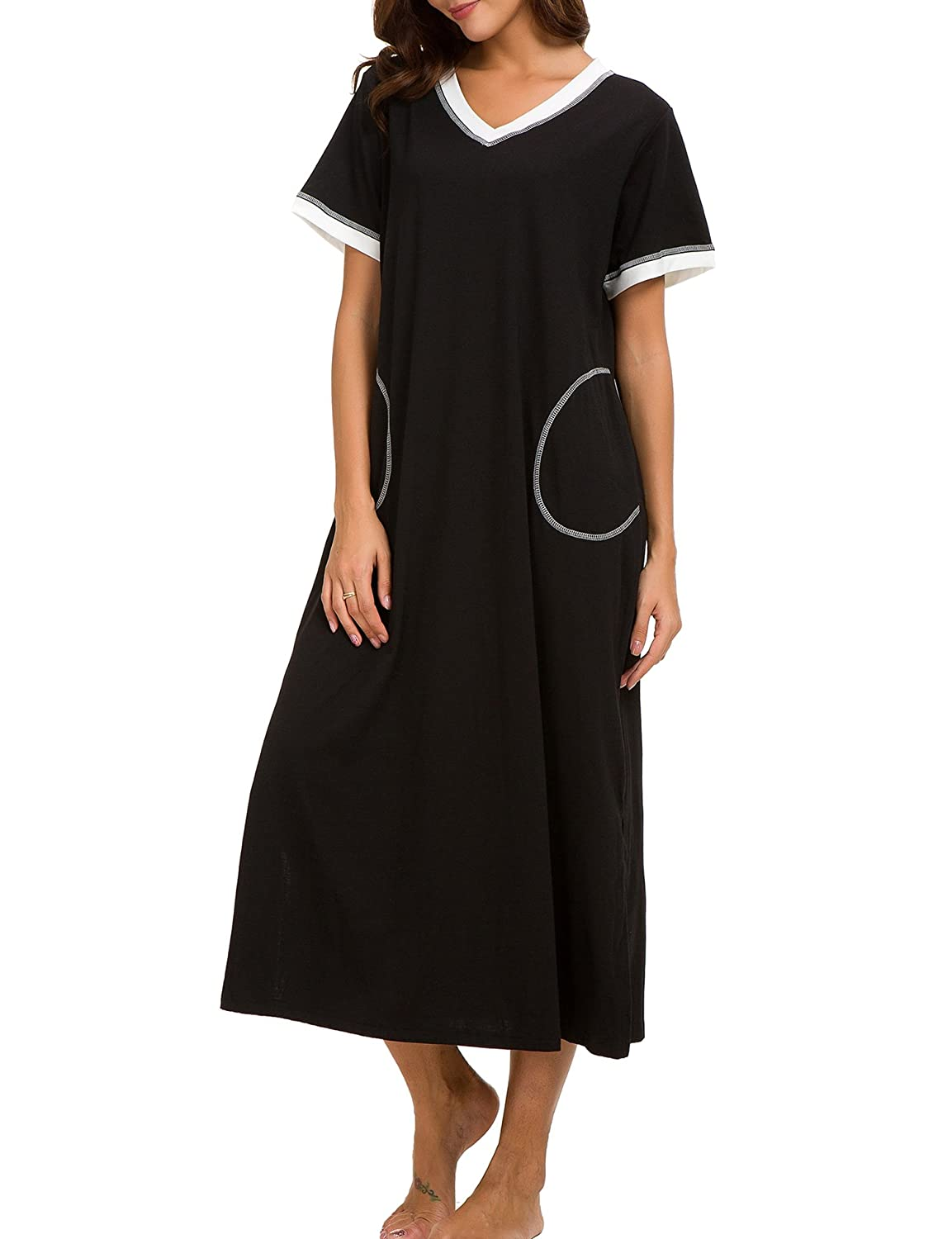 Top 10 wholesale Short Sleeve Cotton Nightgown - Chinabrands.com d081ca72b
