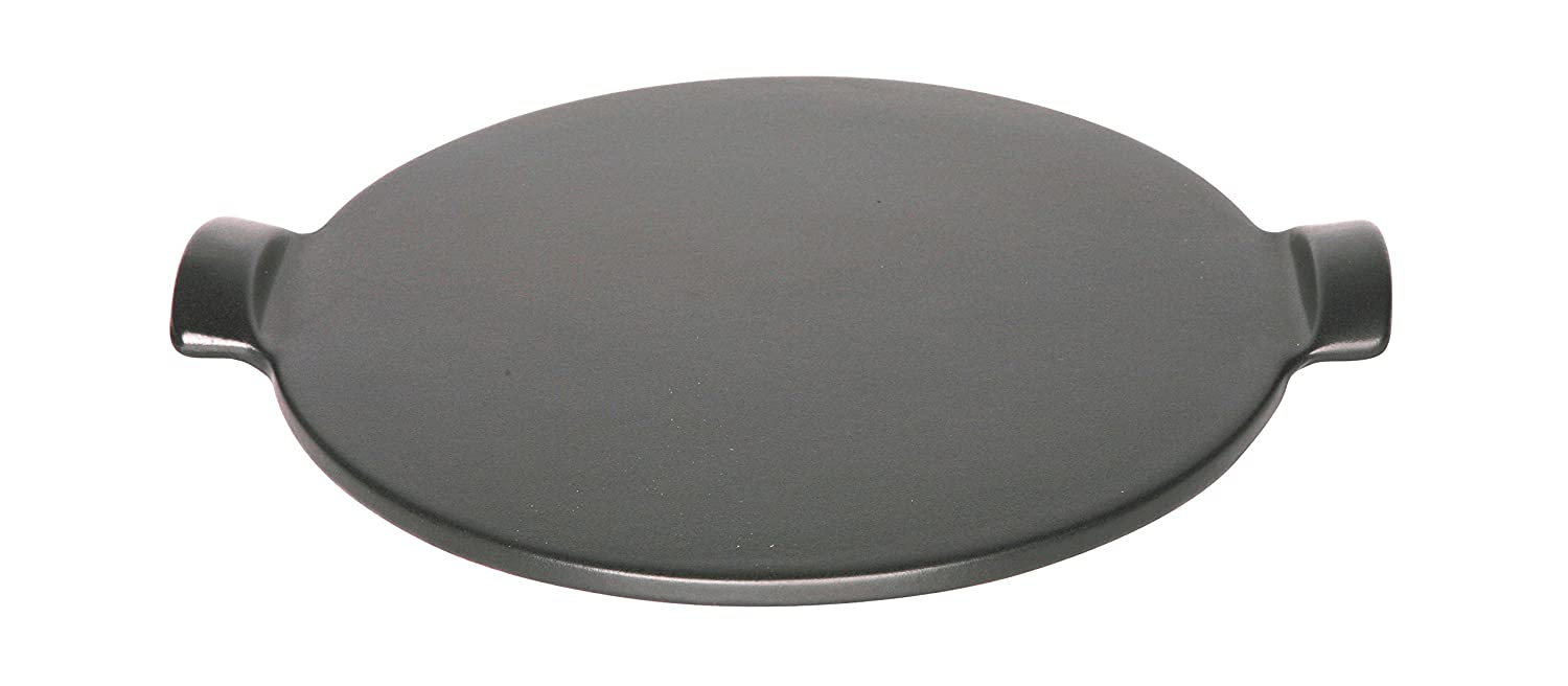 "Emile Henry Made In France Flame Individual Pizza Stone, 10"", Charcoal"