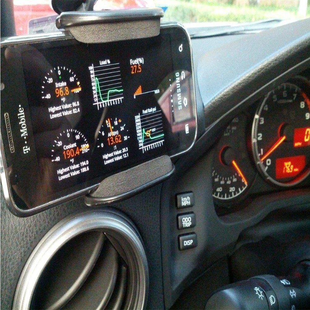FuriAuto WiFi Wireless Mini ELM327 OBDII Auto Coche