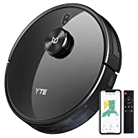 Deals on YTE Robot Vacuum with Lidar Mapping Technology X580