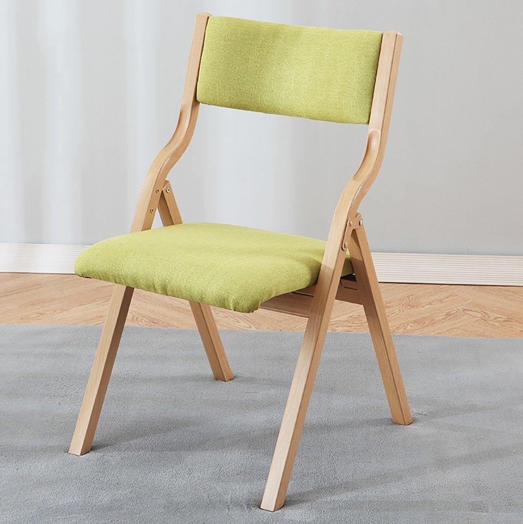Chair QL sillones plegables Silla plegable de madera maciza ...