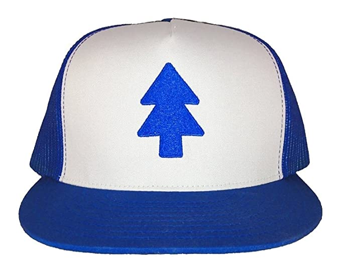 The Mystery Shack Gravity Falls - Dipper s Hat - Embroidered Trucker Hat  (XXL (7 7bc1573675f