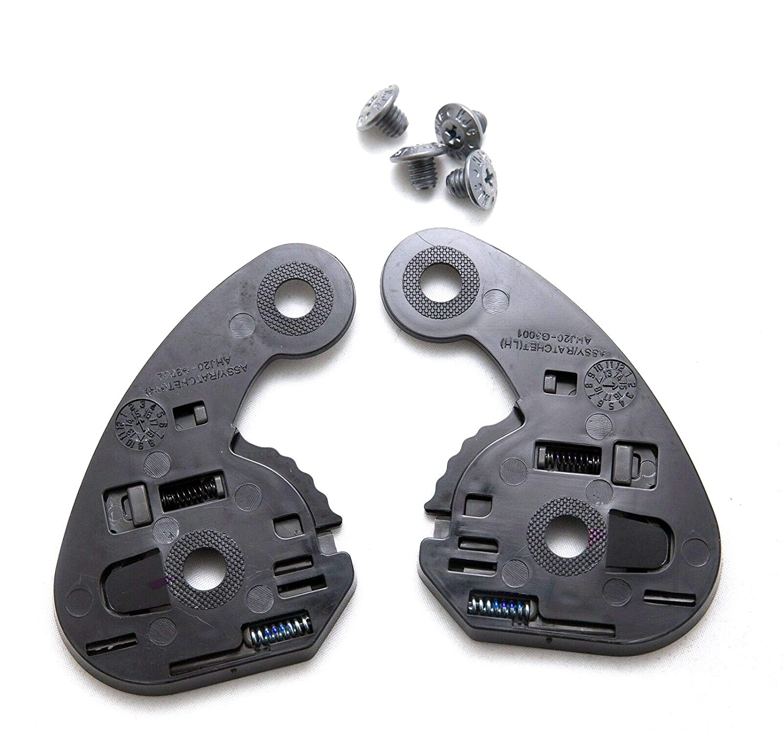 Made in Korea by HJC Helmets Bike Racing Motorcycle Helmet Accessories RSP 10 helmets HJC HJ-20 Gear Plate // Ratchet Set,for R-PHA 10