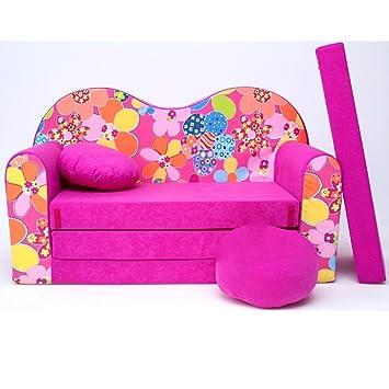 h12 - divano letto per bambini divano 3 in 1, composto da divano ... - Divano Letto Per I Bambini