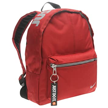 85056c3d57a Nike Mini Base Backpack Red Bag Holdall Gymbag Rucksack  Amazon.co ...