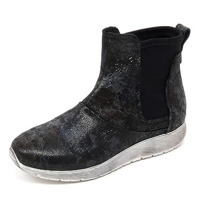 Shoe Andia Polaris Basso Fora Tronchetto Donna B6678 Neromimetico 08OPwkn