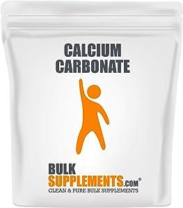 BulkSupplements.com Calcium Carbonate Powder - Calcium 500mg - Calcium Carbonate Powder for Chalk Paint - Chalk Powder - Eggshell Powder (1 Kilogram)