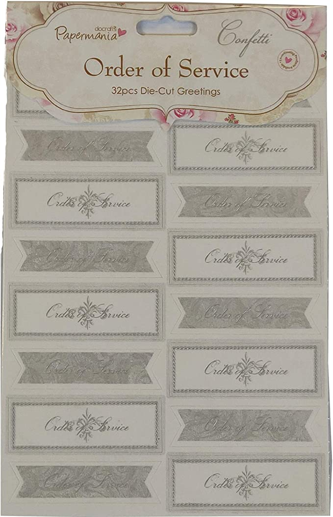 Papermania A4 Vellum inserts Confetti by Stephanie Dyment Bouquet flowers 20PK
