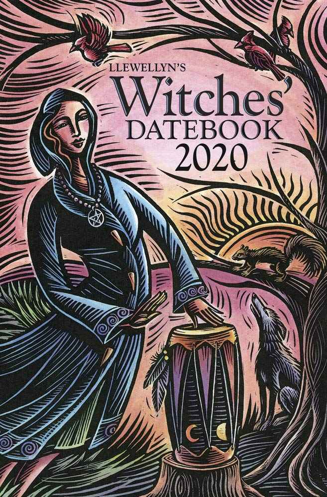 Llewellyn's 2020 Withes Datebook | The Best 2020 Pagan and Witchy Planners | WitchcraftedLife.com
