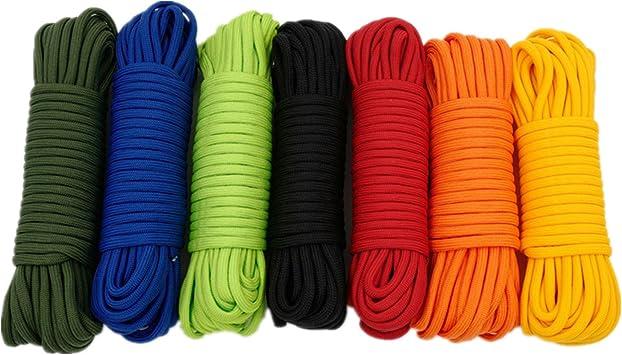 1 4 6mm Orange Diamond Braid Nylon Rope 11 Strands Paracord Utility Rope Multipurpose Nylon Twine 50ft Amazon Com