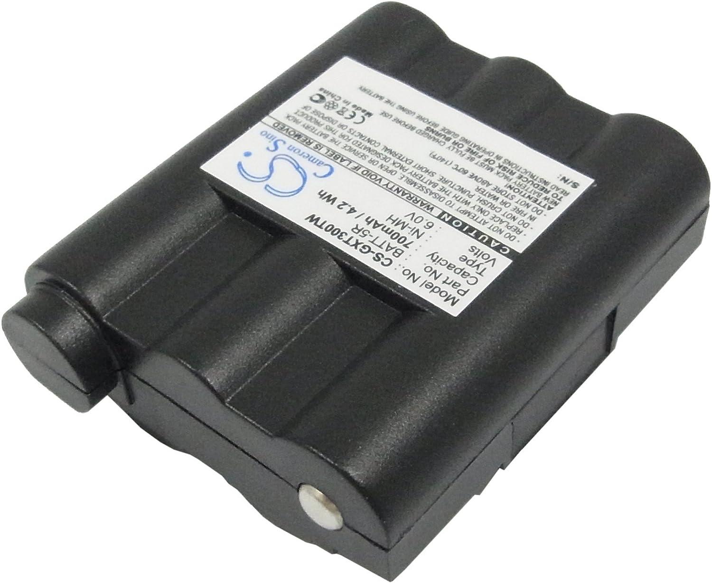 XPS 700mAh Battery for Alan G7 Midland GXT1000 GXT1050 GXT300 GXT300VP1 GXT300VP3 GXT300VP4 GXT325 GXT325VP GXT400 GXT400VP1 PN BATT5R BATT-5R PB-ATL//G7