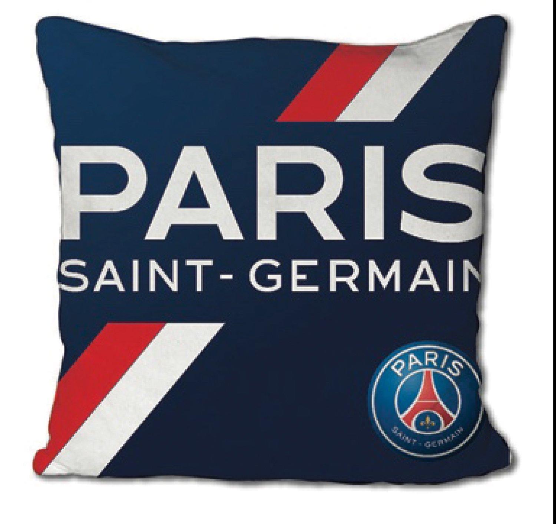 TWENTY FEET PSG Football Club - Grand Coussin du Paris Saint Germain Collection 2018 Édition Limite 35x35cm
