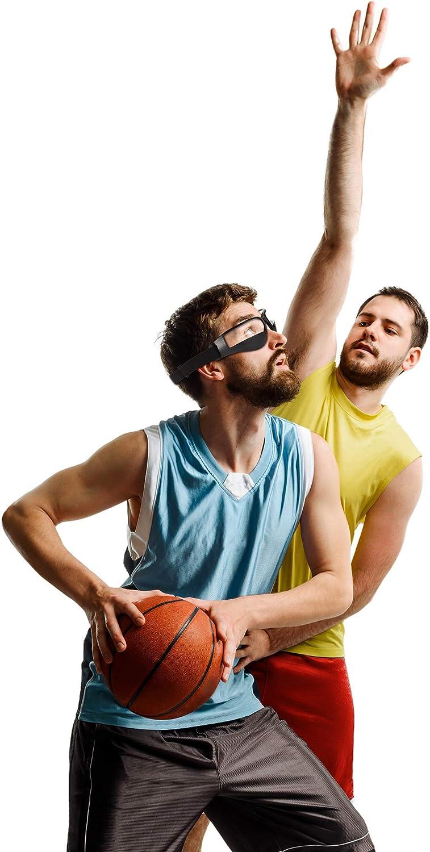 Patelai 4 Piezas de Gafas de Regate de Baloncesto para Ayuda de Entrenamiento de Baloncesto