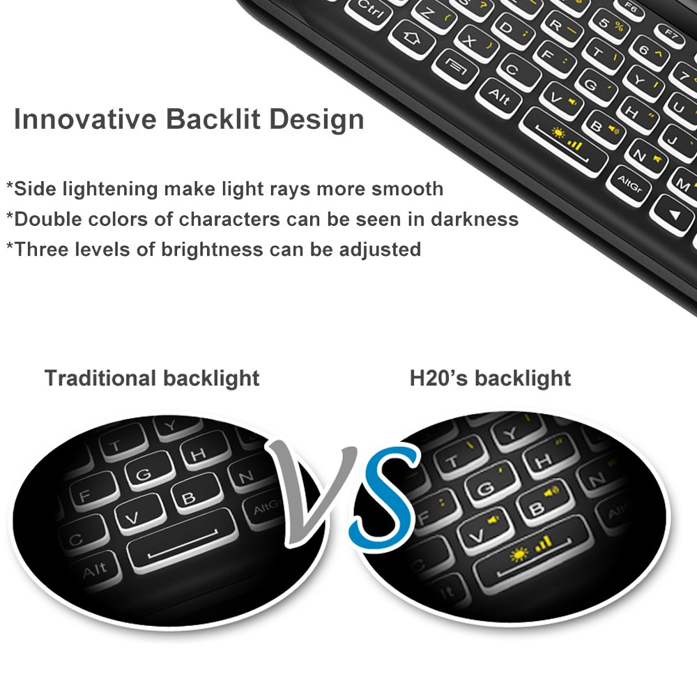 Amazon Wireless Keyboard And Mouseyongf H20 24g Gaming