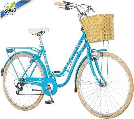 breluxx Venera Fashion Karma 2019 - Bicicleta de Ciudad para Mujer ...
