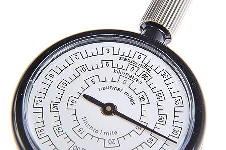 Entfernungsmesser Für Landkarten : Huntington rangefinder opisometer: karten distanzmesser
