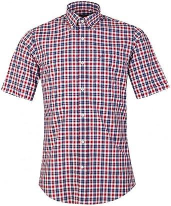 PAUL & SHARK - Camicia a Manica Corta Botton Down: Amazon.es: Ropa y accesorios