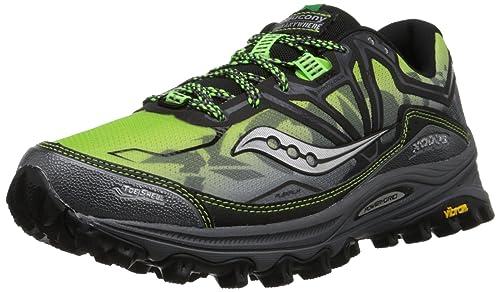 Running Shoe, Grey/Black/Slime