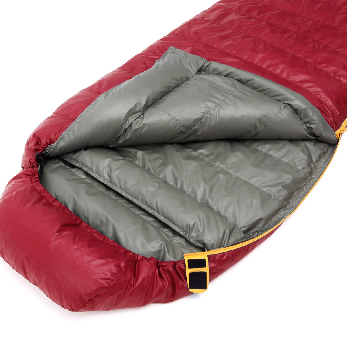 KingCamp Duck Down Lightweight Compact -4 ℉ Sleeping Bag with Collar,for Camping,Hiking,Backpacking