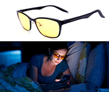 1df4d8cc92 Image Unavailable. Image not available for. Color  Premium Blue Light Blocking  Glasses  ...
