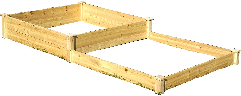"Eden Quick Assembly Raised Garden Bed, 4' x 8' x 11"", Quick"