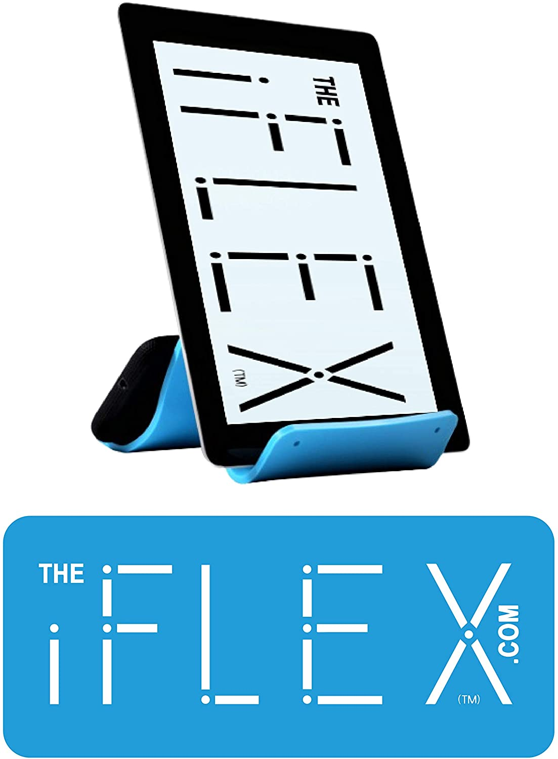 iFLEX Cell Phone Stand and Tablet Stand for Air Travel, Work and Home – This Flexible Phone Holder is The Perfect iPhone Stand and Holds Any Mobile Device – Non-Slip Grip, Strong and Durable