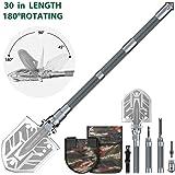 Sahara Sailor Survival Shovel, Unbreakable Tactical Shovel-180 Degree Folding Shovel-Ultimate Survival Tool-23-in-1 Multi-Purpose Folding Shovel