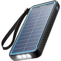 Anker PowerCore Solar 10000, 18W USB-C Power Bank 10,000 mAh with Dual Ports, Flashlight, IP65 Splash Proof and…