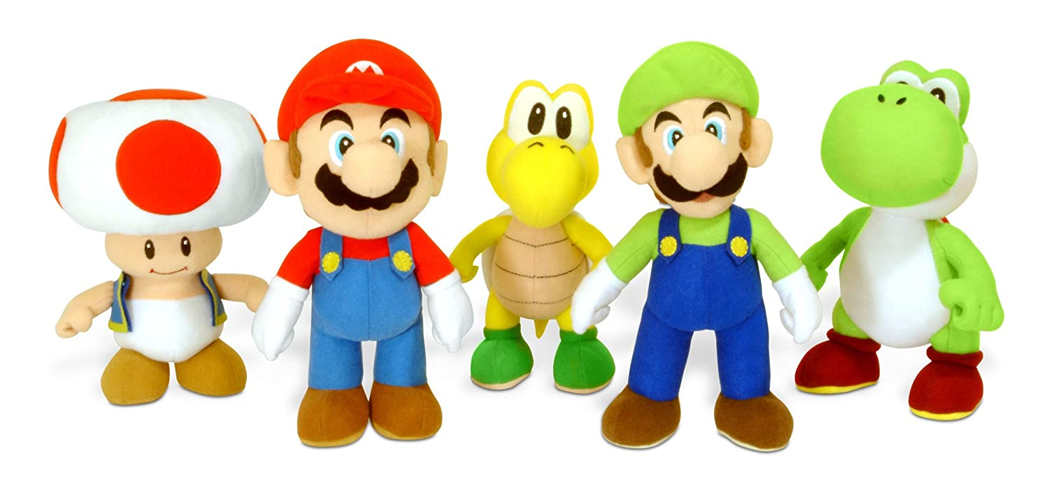 Amazon.com: Together - Peluche - Luigi - Super Mario Bros - 24 cm - 9331965010812 by Together: Toys & Games