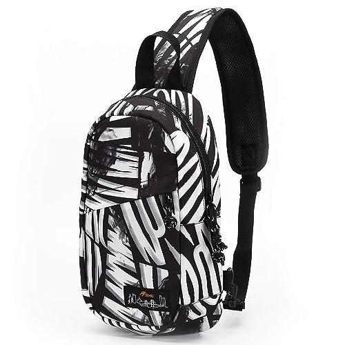 0f105fa0cb6 Small Sling Crossbody Backpack Chest Shoulder Bag Designer Daypacks Satchel  Bags For Men Women Girls Boys