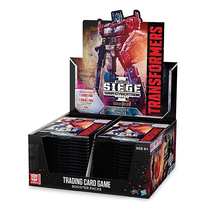 Transformers TCG Trading Card Game War for Cybertron Siege Booster Box [30 Packs]