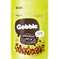 Gobble Organic Mix Snack Bag, 100g