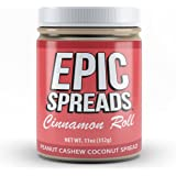 Epic Spreads Nut Butter (Cinnamon Roll Peanut Cashew Coconut)