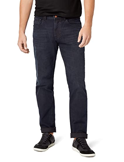 3bf8b634b8 camel active Men's 488645 Straight Jeans, (Blue/Black Used 43), 31