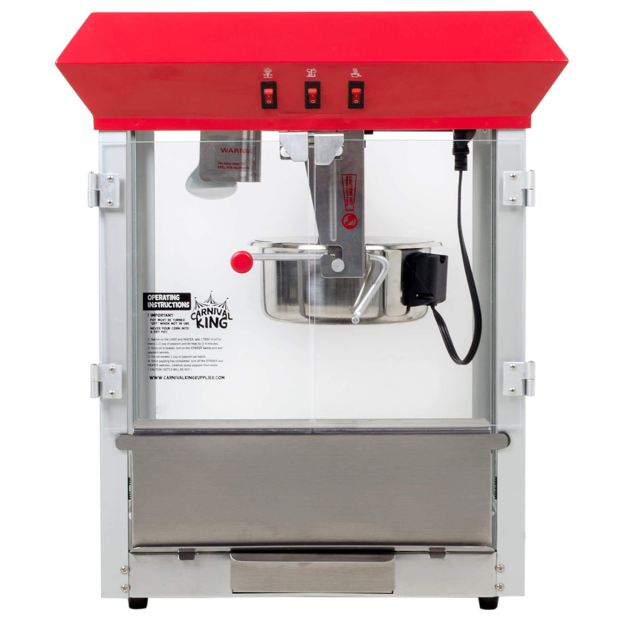 Carnival King PM850 8 oz. Popcorn Machine/Popper - 120V, 850W