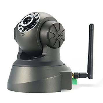 LKM Security CAMARA IP WIFI CON MOVIMIENTO E INFRARROJOS - WIFI - P2P - 640X480P -