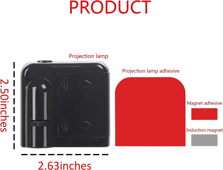 Automotive Running Board Lights MASHA 2pcs LED Car Door Welcome ...