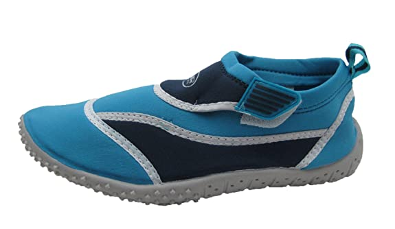 Women's Velcro Ankle Strap Fashionable Water Shoes w/ Color Scheme